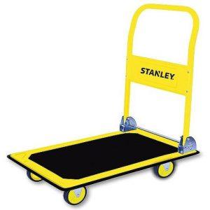 """עגלת משא משטח מתקפל עשויה פלדה עמידה 150 ק""""ג STANLEY"""