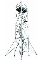 פיגום אלומיניום נייד מקצועי 6 מטר