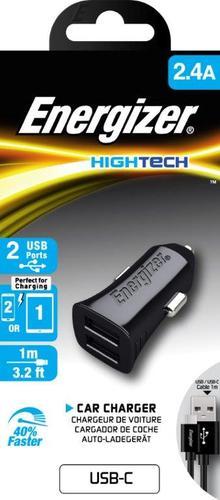 מטען לרכב USB-C + כבל