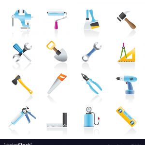 construction-work-tool-icons-vector-791660